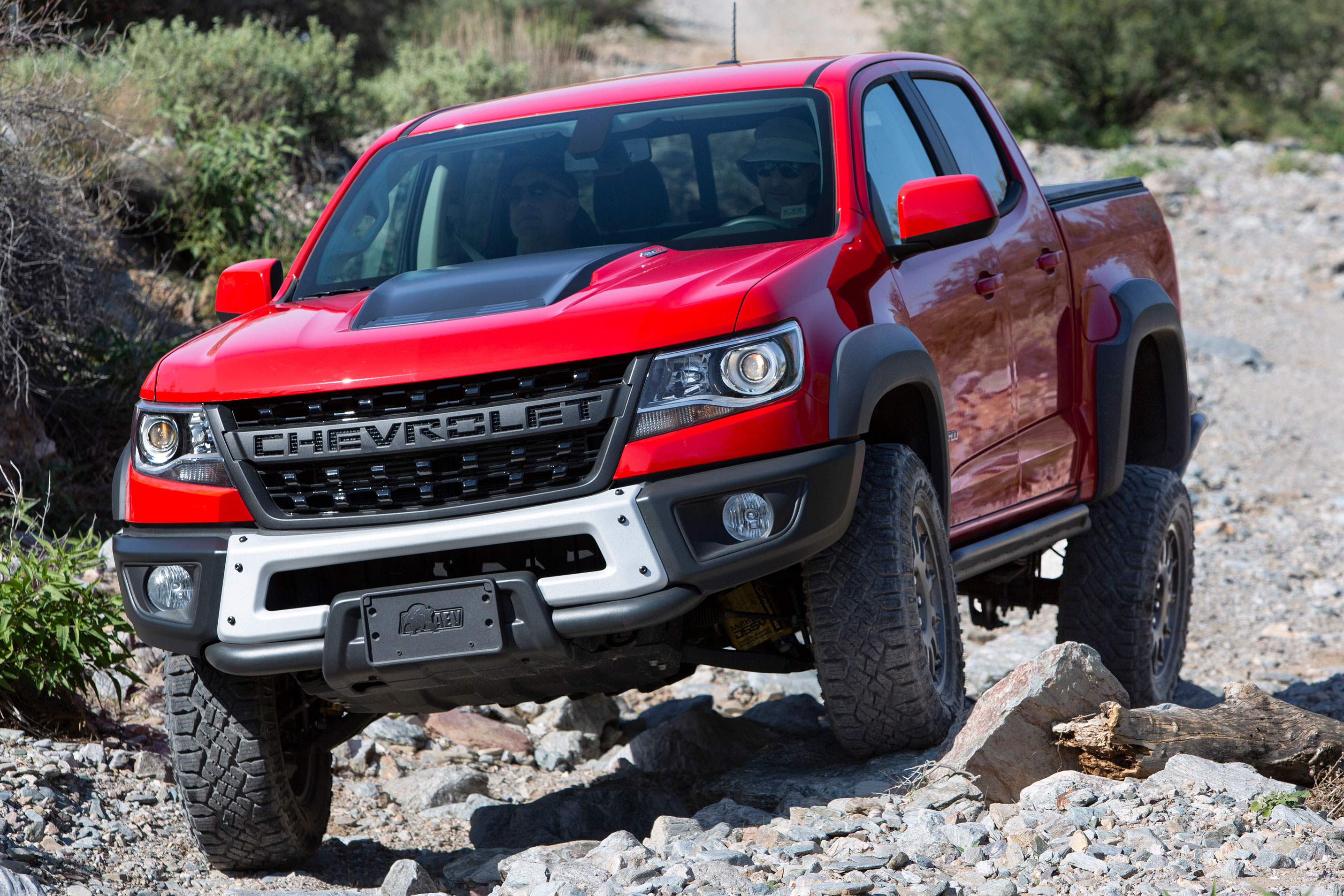 2019 Chevy Colorado ZR2 Bison Leads the Off-Road Charge