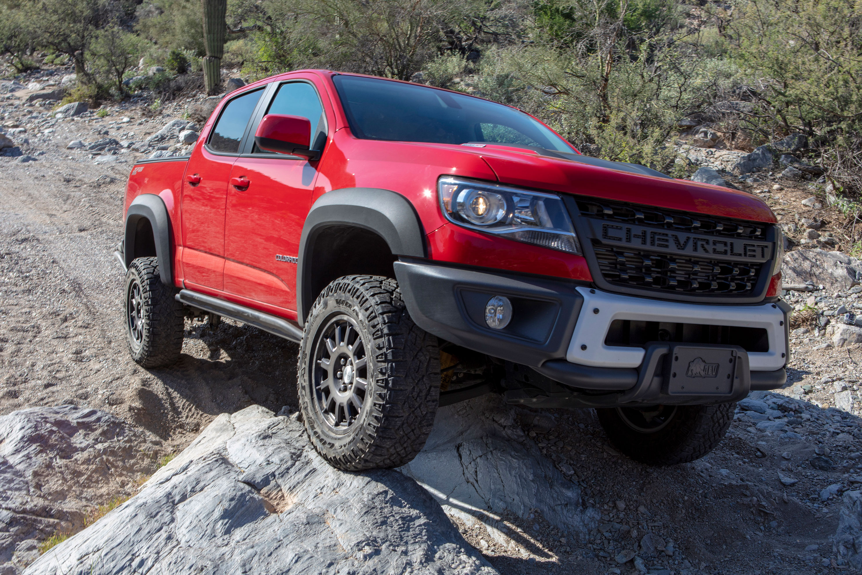 2019 Chevy Colorado Zr2 Bison Leads The Off Road Charge Gearjunkie