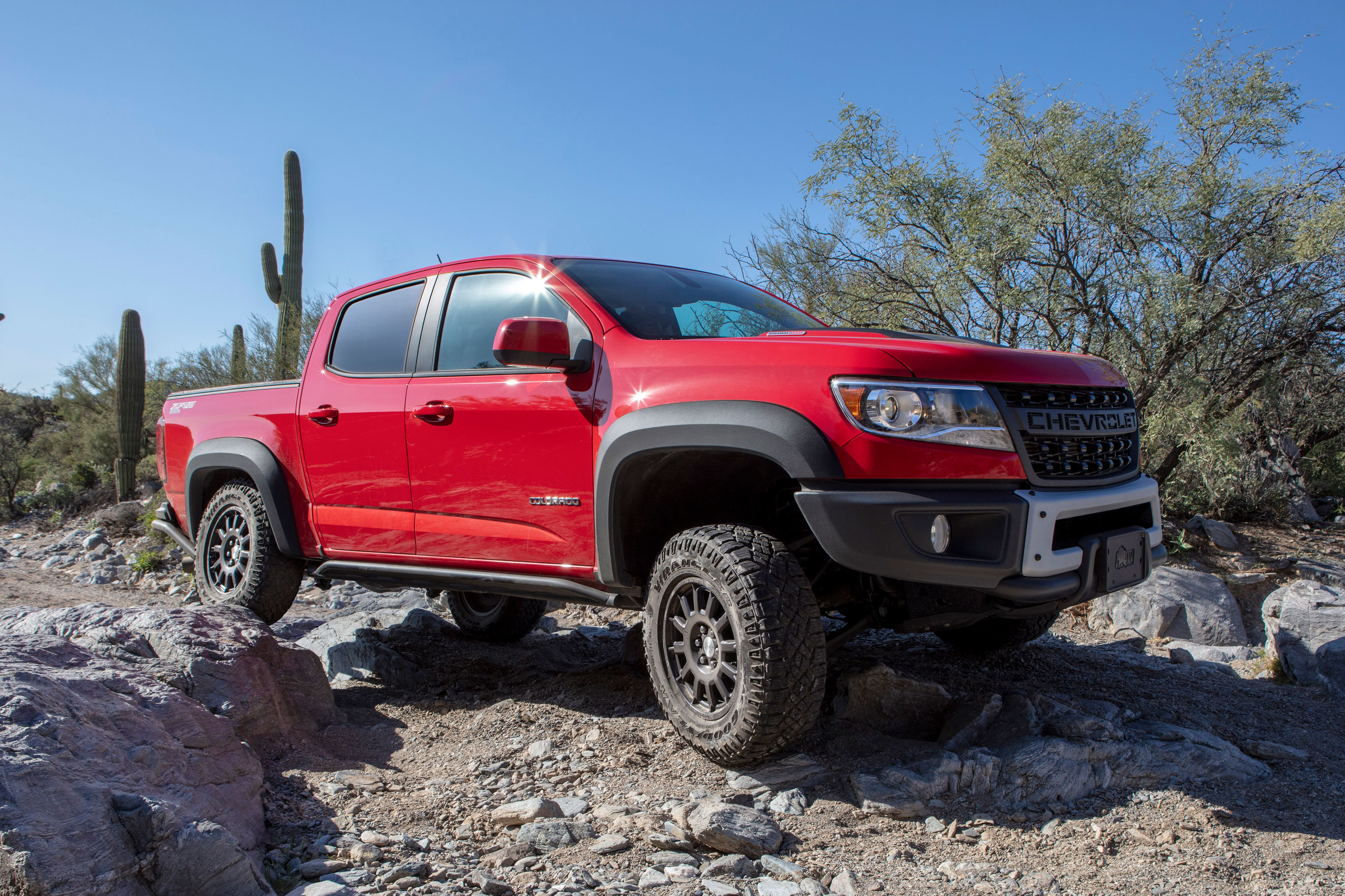 Chevy ZR2 Bison off-road truck
