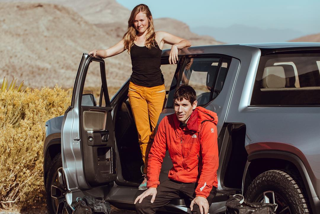 Alex Honnold Picks Up A Cutting Edge Collab From The Future Rivian Gearjunkie
