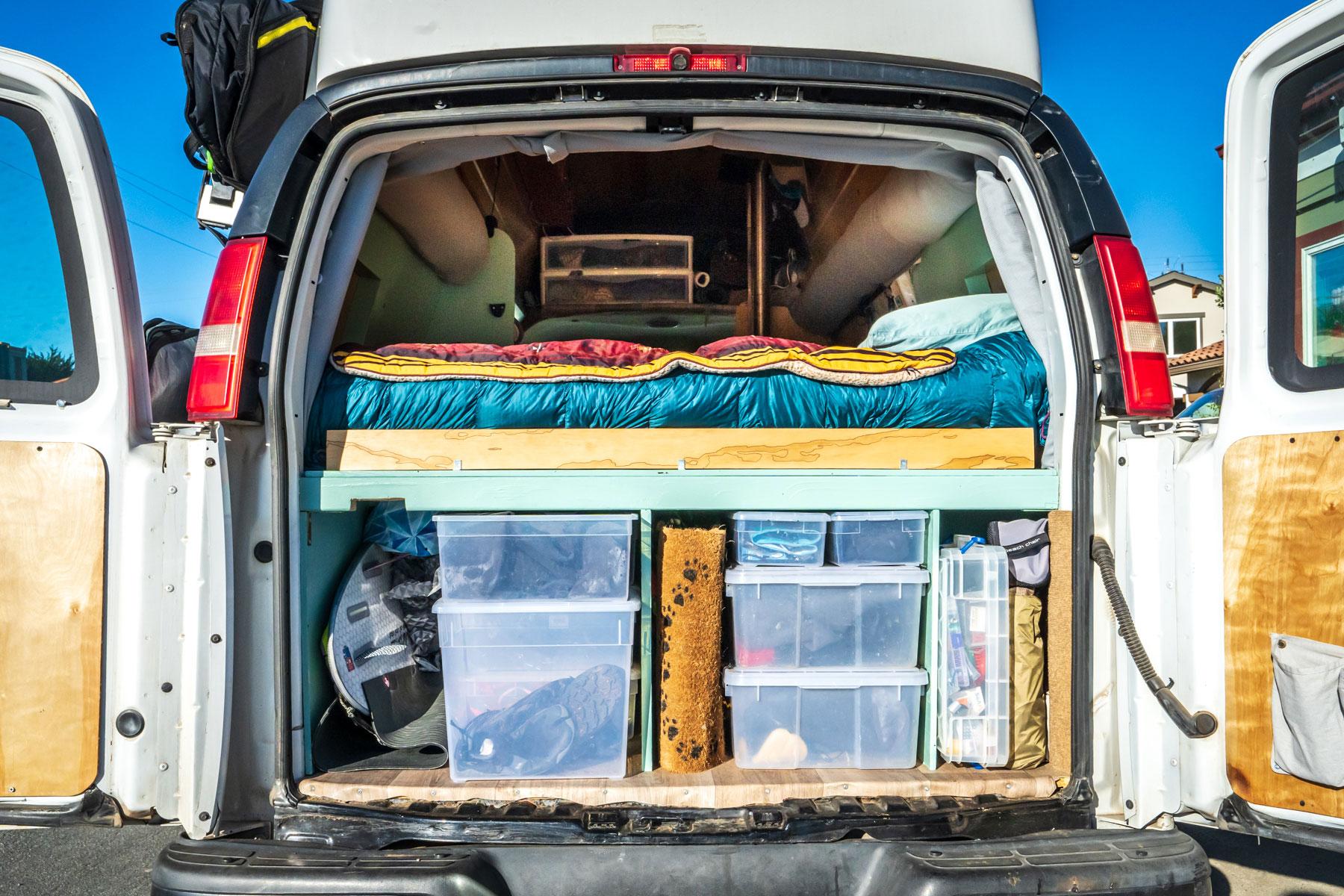 7-van-life-organization