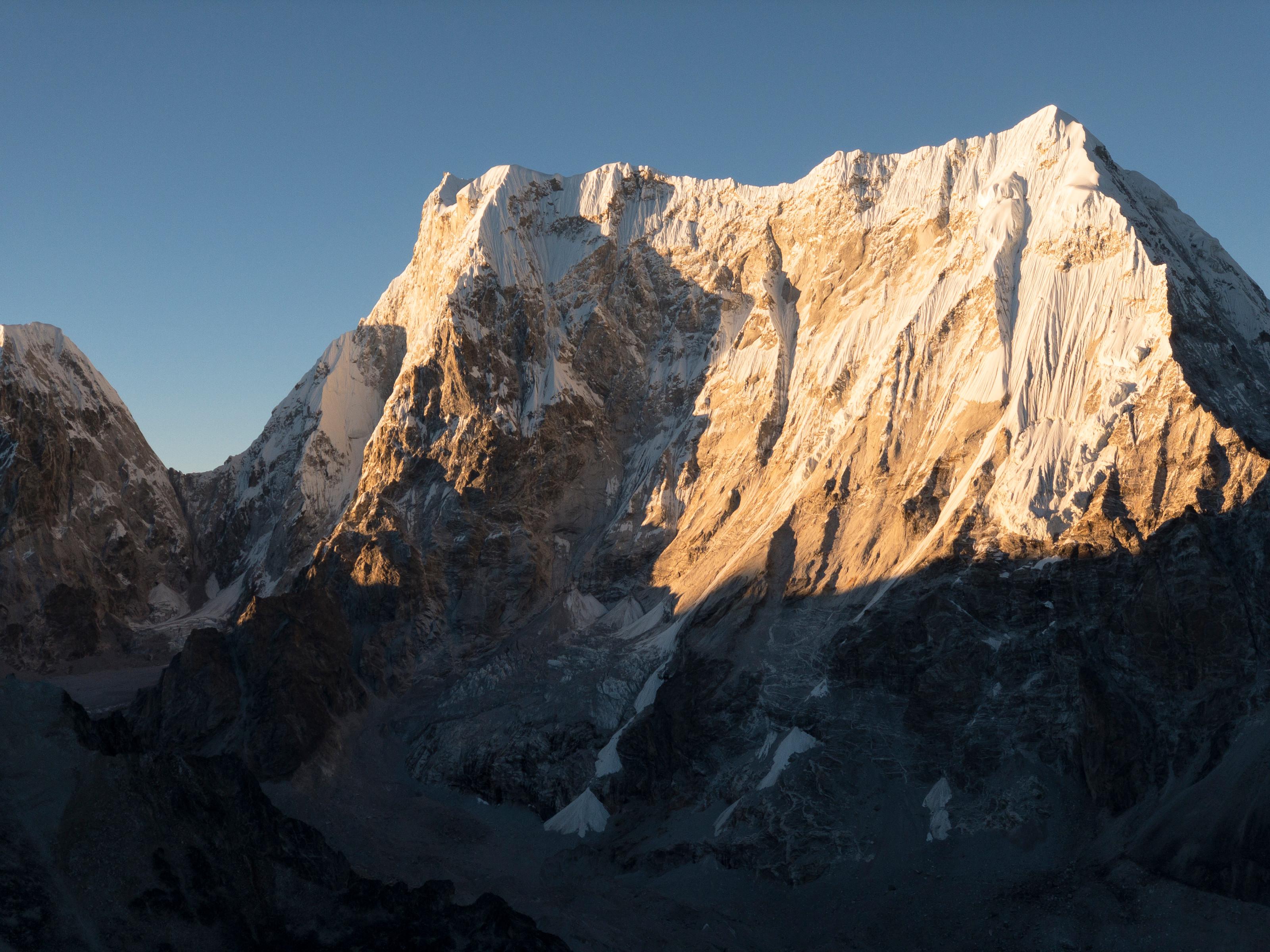 Why Climb Solo? David Lama Summits Lunag Ri Alone | GearJunkie