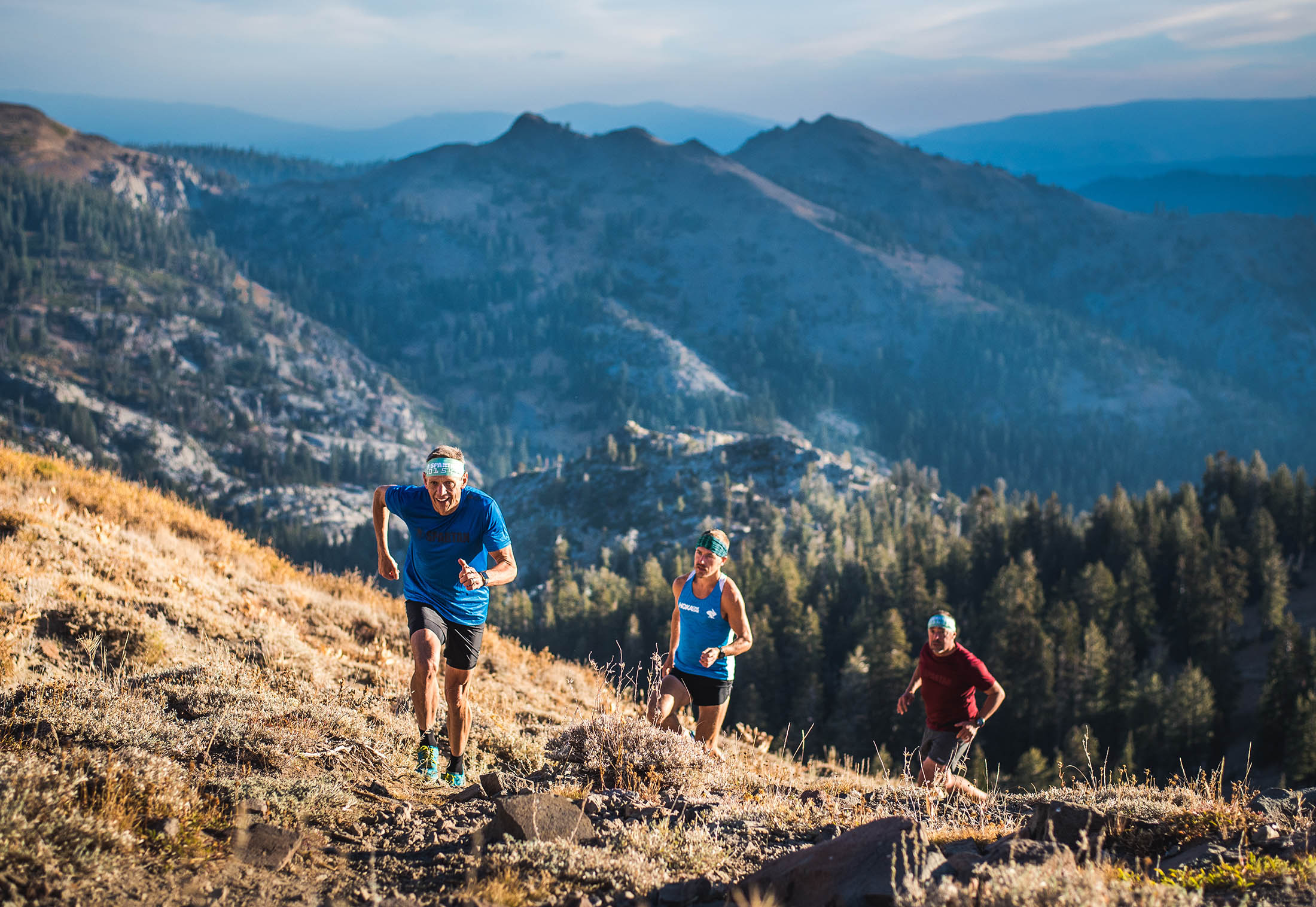 Spartan trail running