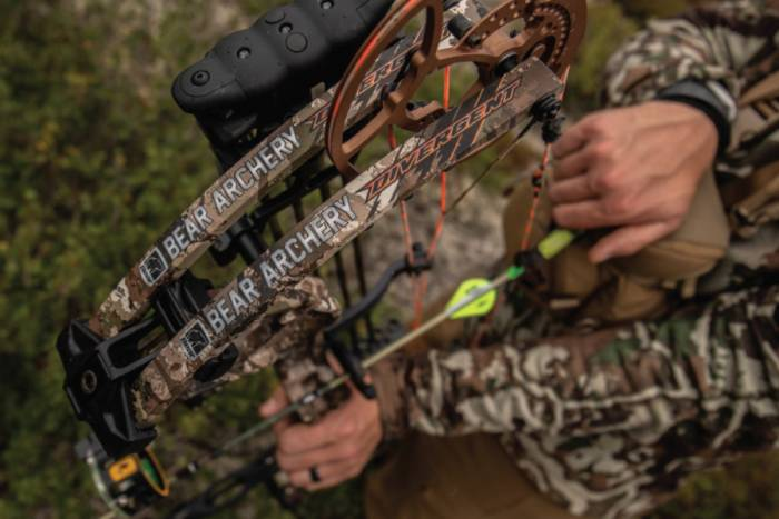 Bear Divergent compound bow