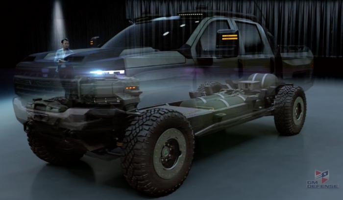 Chevrolet Silverado ZH2 Hydrogen fuel cell truck
