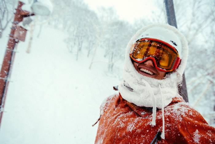 Ski goggles at evo