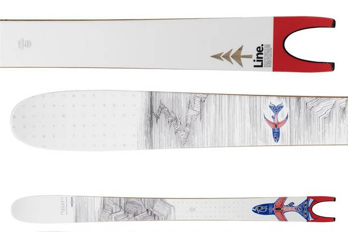 Line Skis Pescado at evo