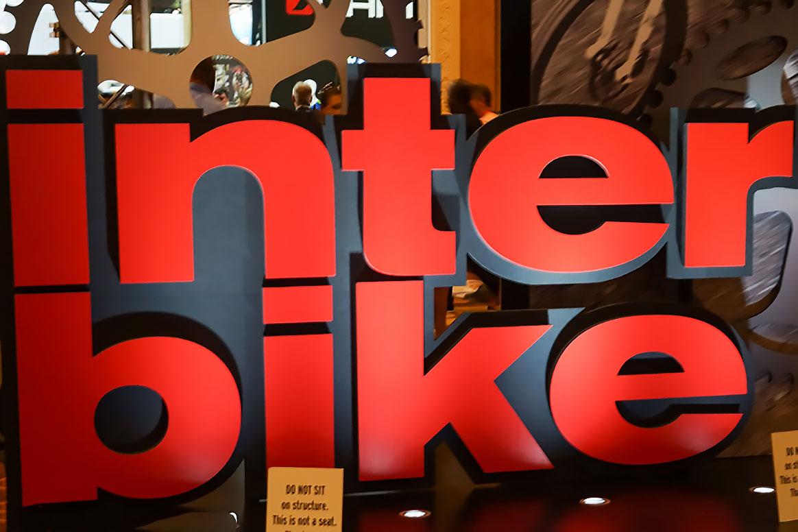 Interbike sign