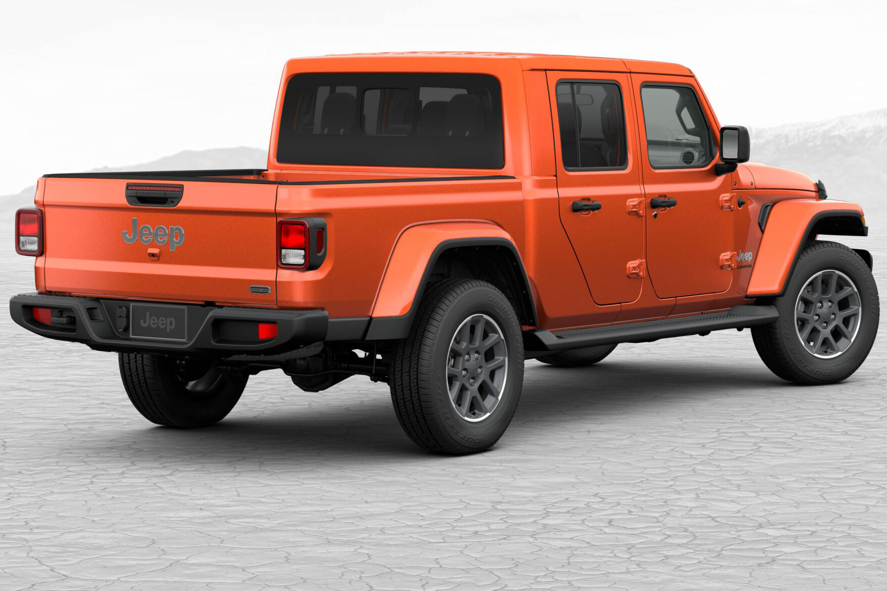 Jeep Gladiator Punk'n orange