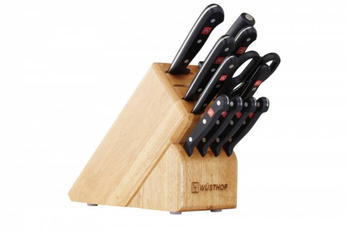 Wüsthof Gourmet Knife Block Set