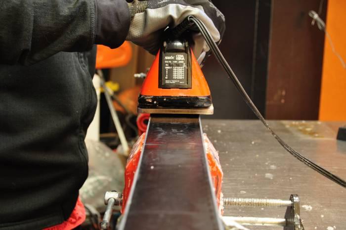 DIY Early Season Ski Wax Iron