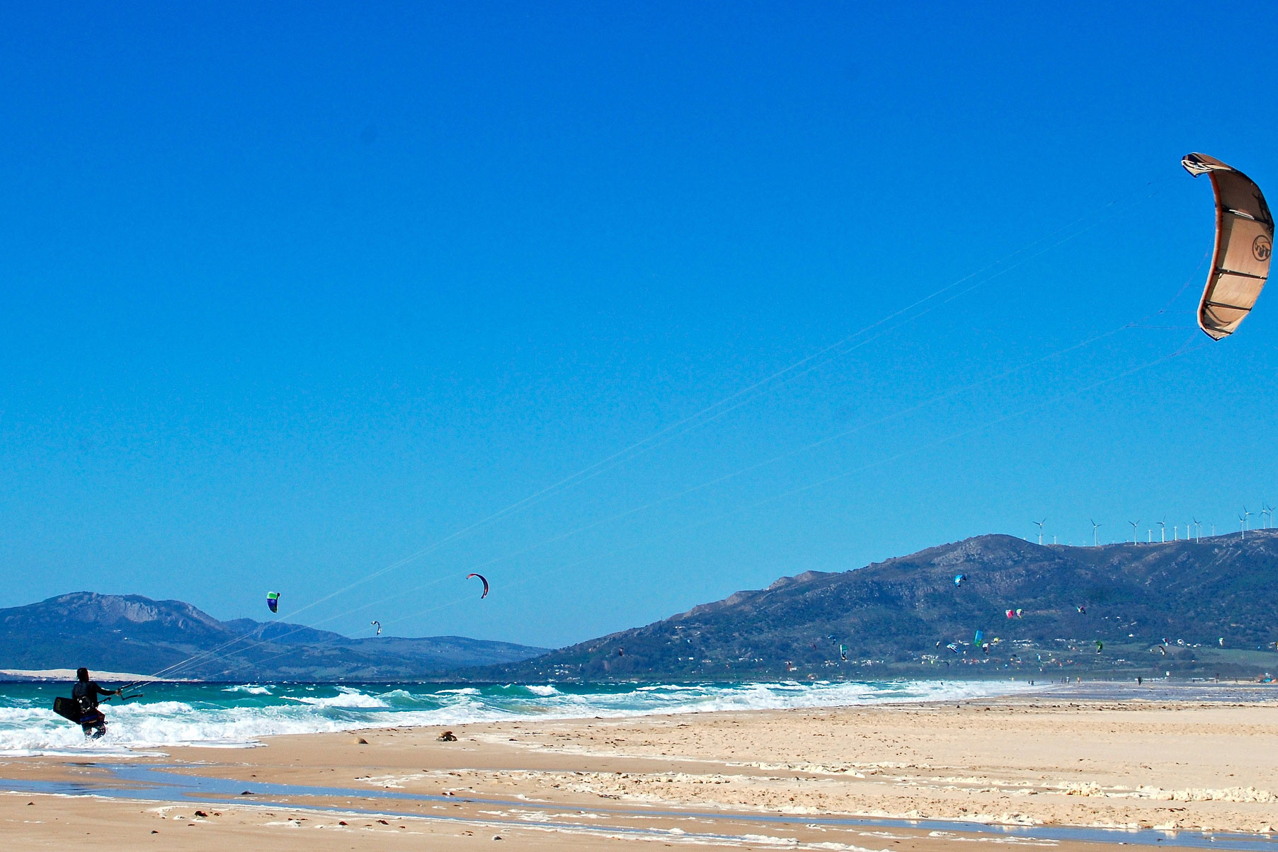 Tarifa Spain kiteboarding