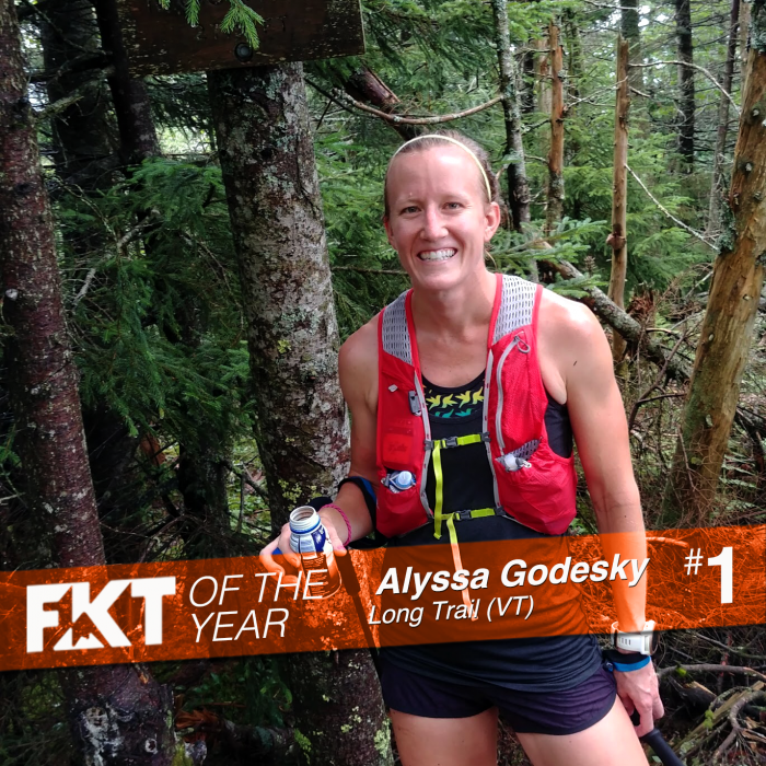 Alyssa Godesky FKT of the Year Vermont Trail