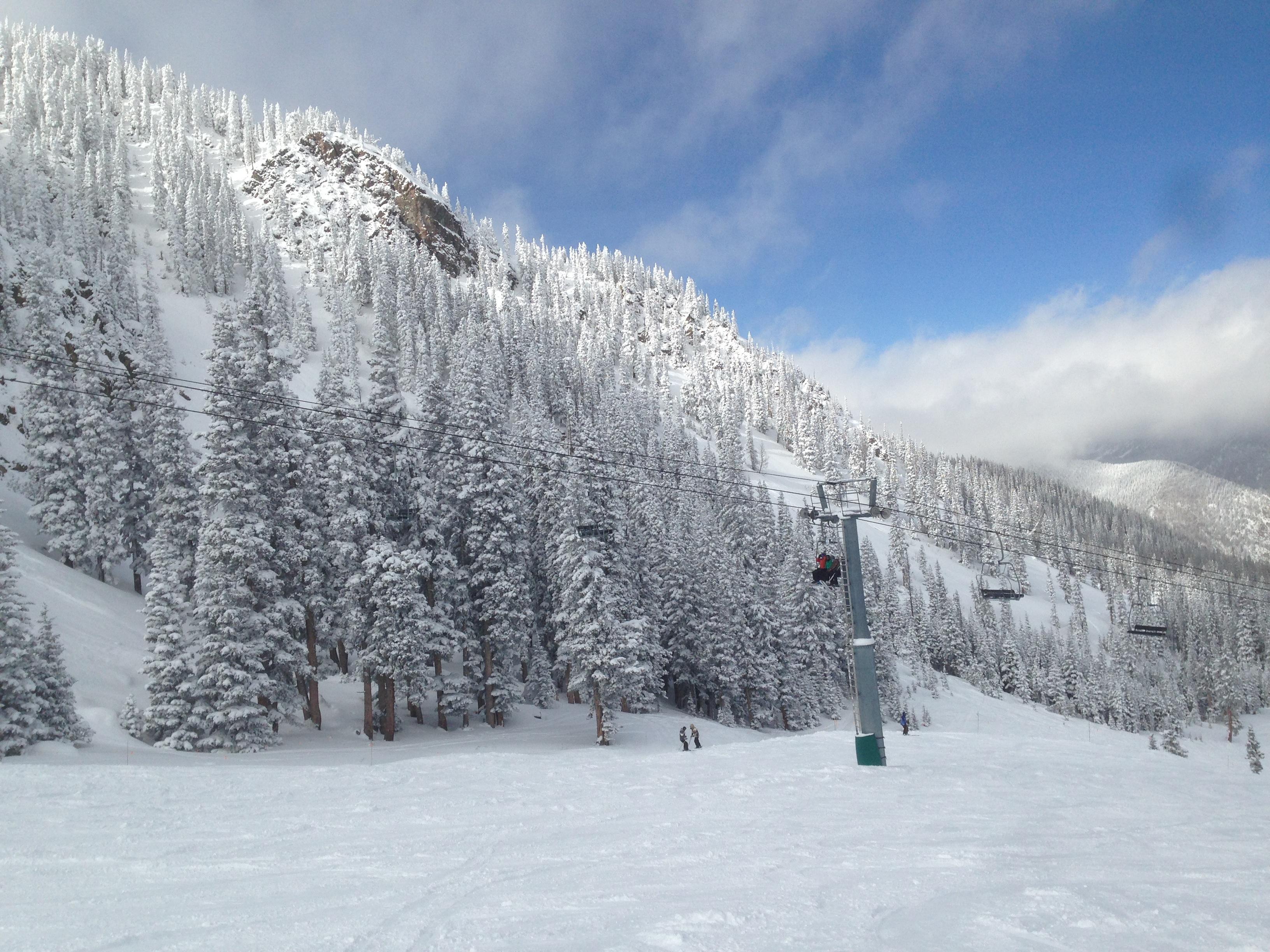 Taos ski area avalanche