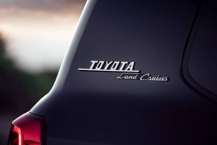 2020 Toyota Land Cruiser Heritage Edition badge