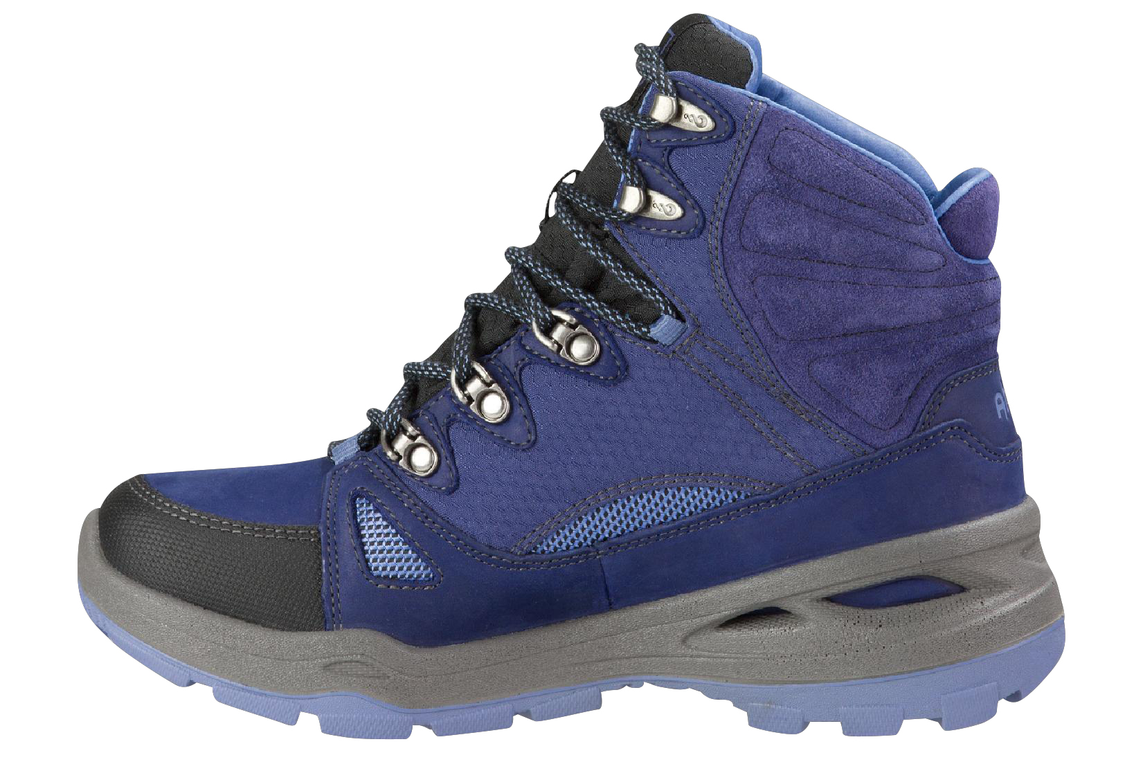 Ahnu North Peak eVent Hiking Boot – blue