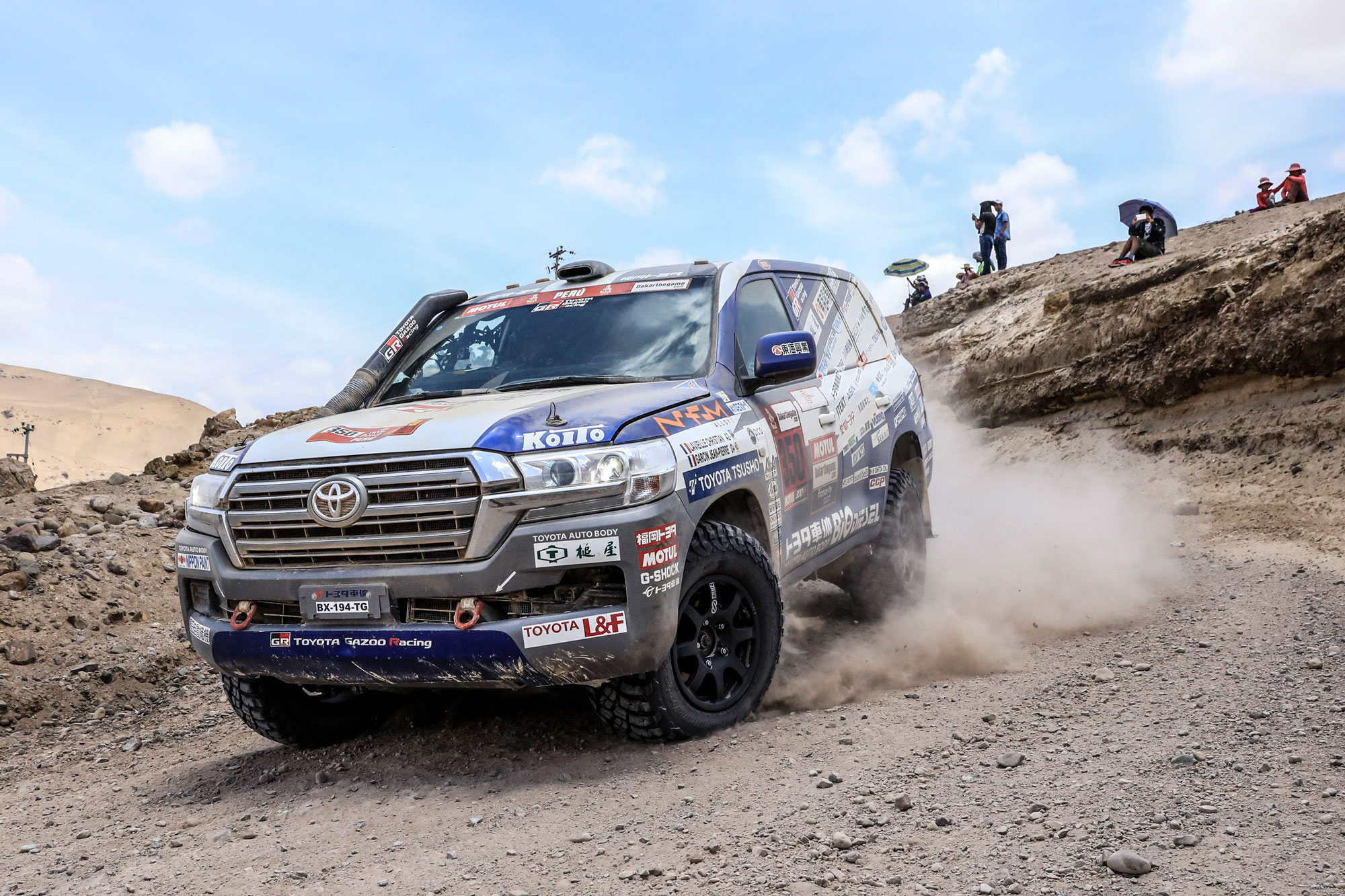 2019 Dakar Rally Toyota Land Cruiser 200 Series