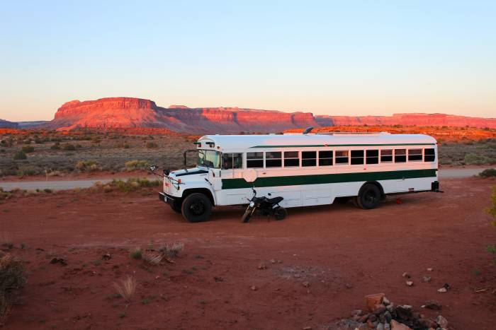 boondocking near Canyonlands National Park