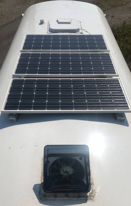 Solar power on a school bus conversation