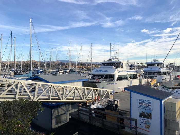 Channel Islands National Park ferry to Santa Cruz Island