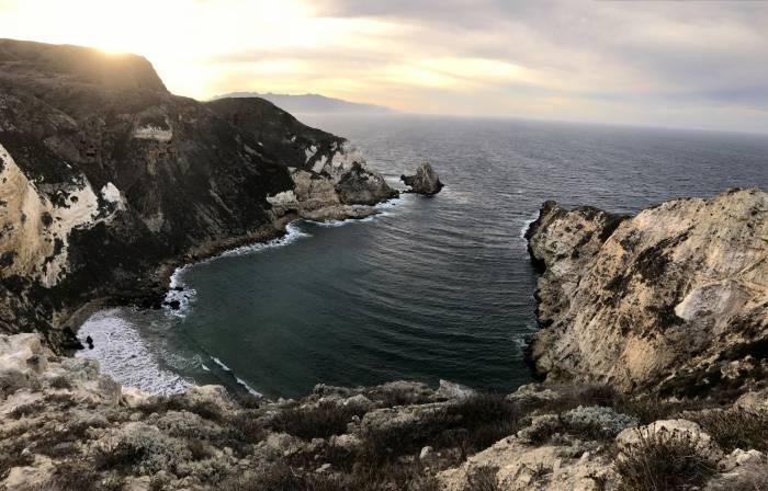 Potato Harbor in Santa Cruz Island Channel Islands National Park
