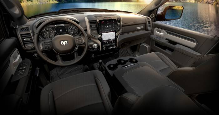 2019 Ram 2500 Power Wagon leather interior