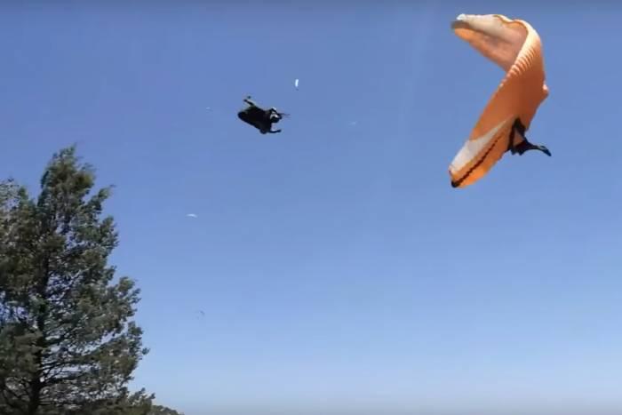 Dust Devil Takes Paraglider for Wild Ride   GearJunkie