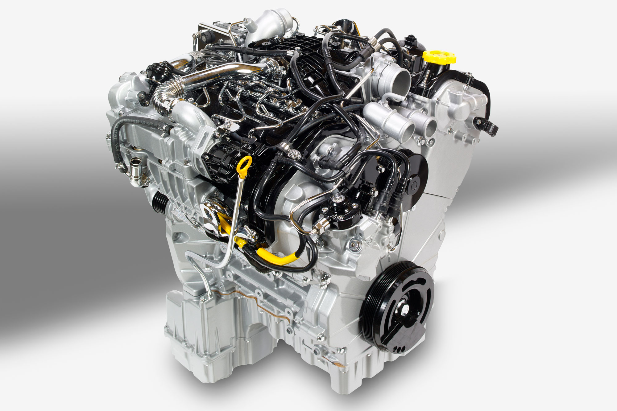 FCA eco-diesel engine