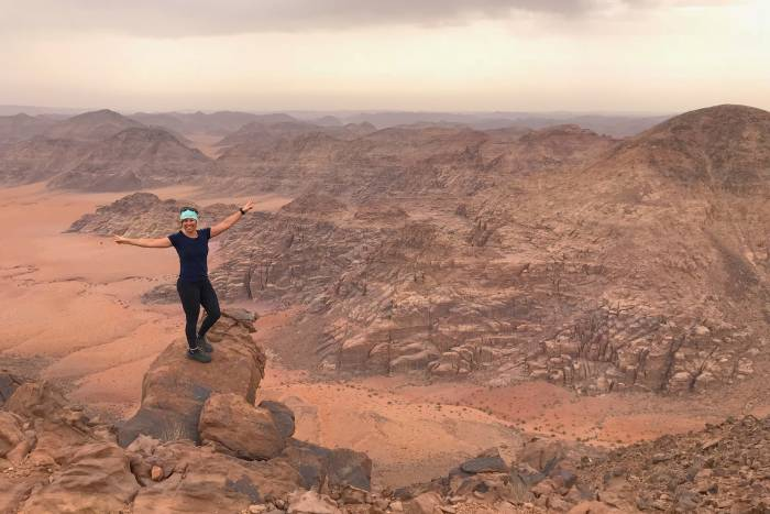 five adventures in jordan Jebel Um Adami