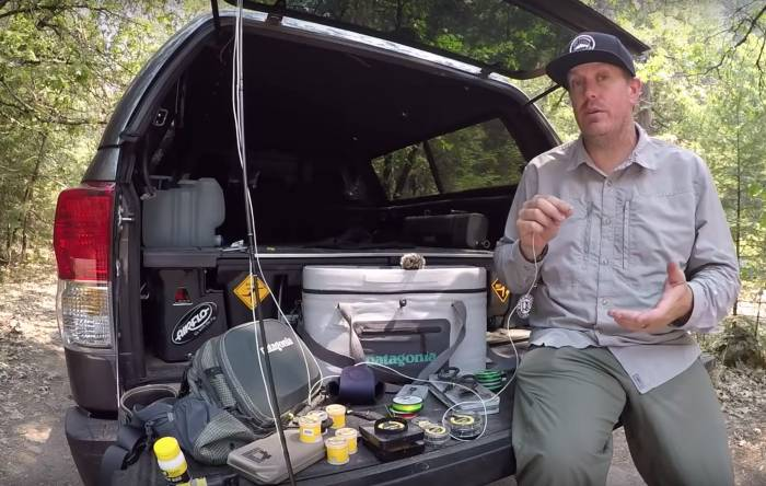 How to Tie a Nymph Rig for Fly Fishing   GearJunkie