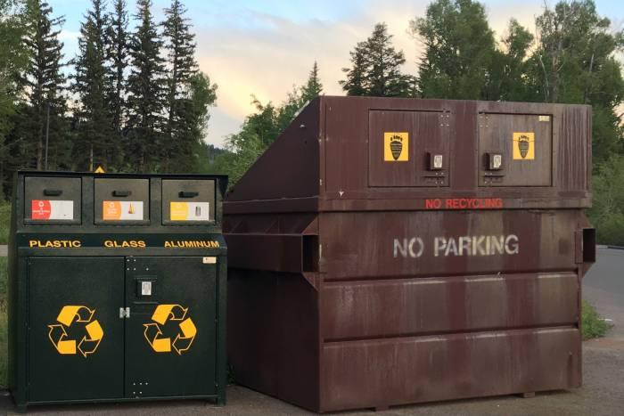 Trash and Recycling at Grand Teton National Park