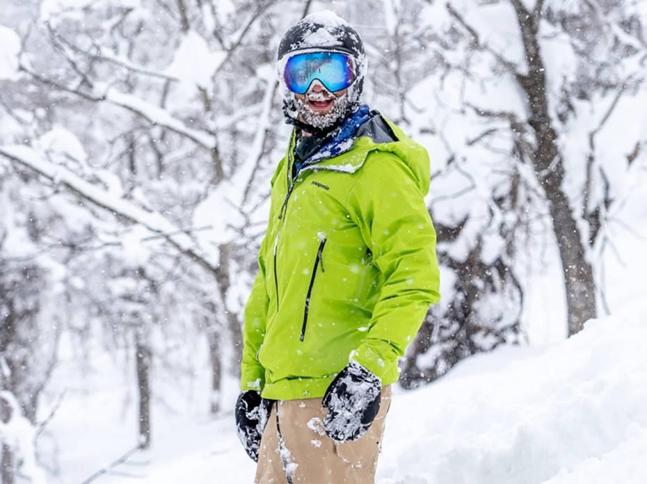 Patagonia Ascensionist Jacket snowboarder