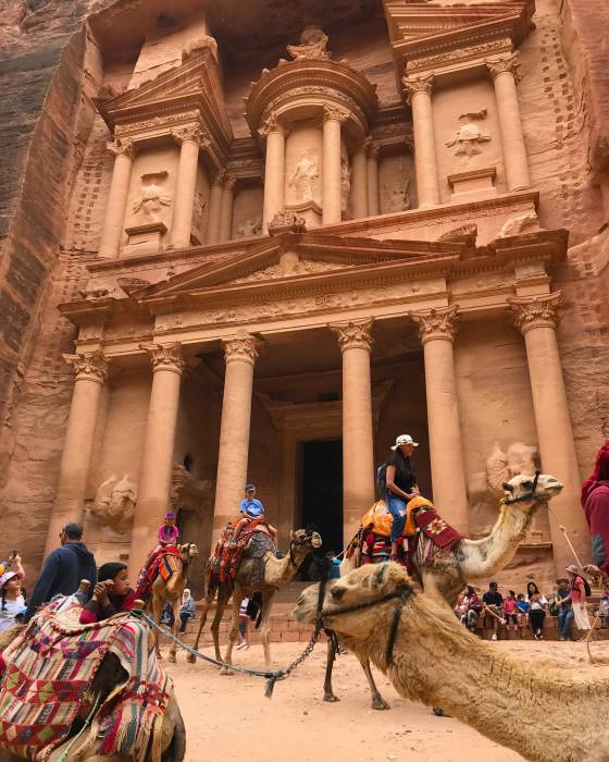 Five adventures in jordan PETRA