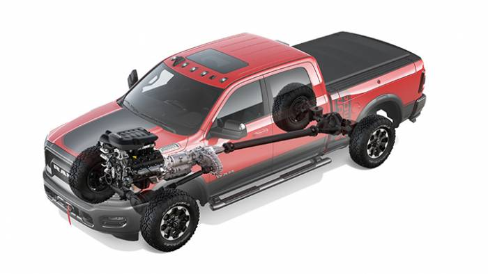 2019 Ram 2500 Power Wagon powertrain