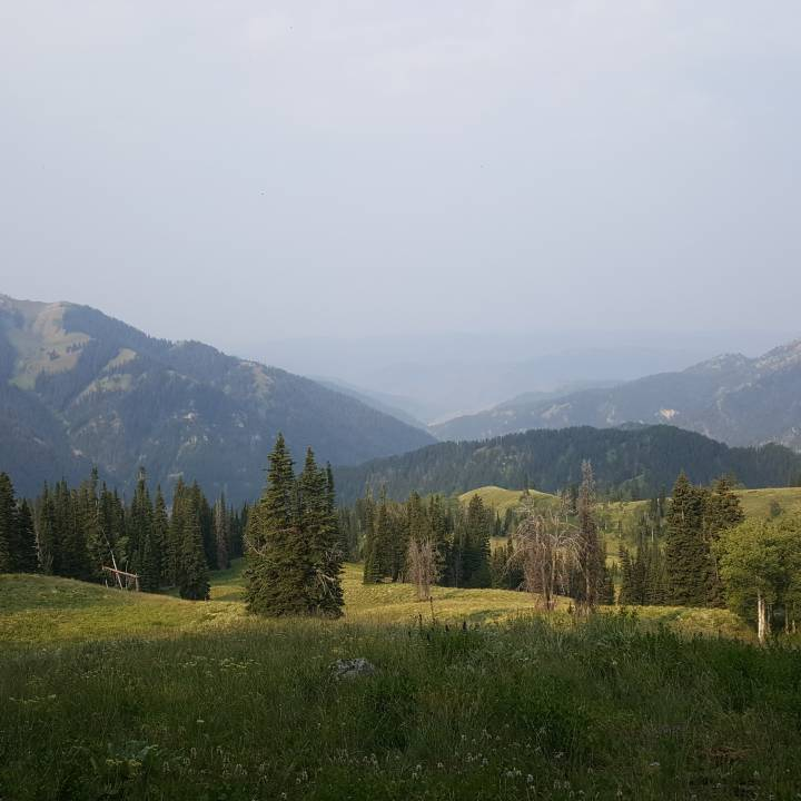Gros Ventre range Wyoming