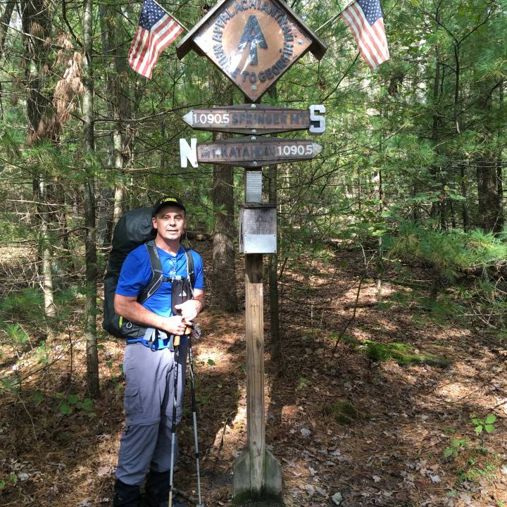 Halfway point of the Appalachian Trail in Pennsylvania