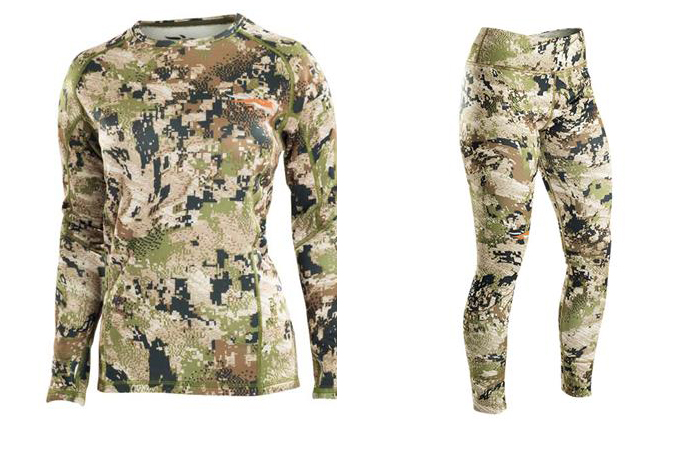 Sitka Women's base layers
