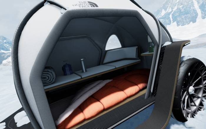 the north face camper van bmw futurelight