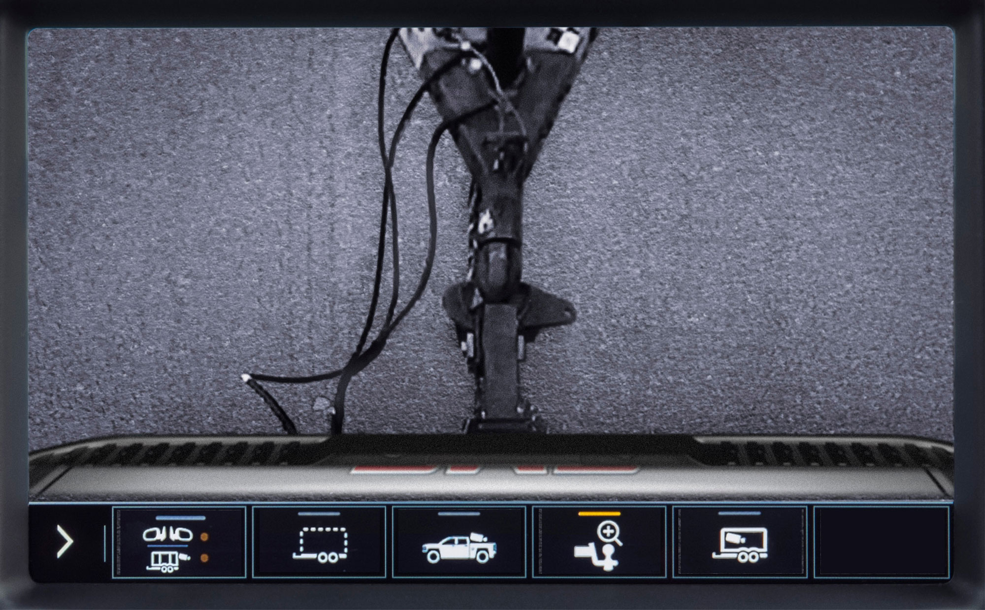 2020 GMC Sierra HD Transparent Trailer View hitch camera