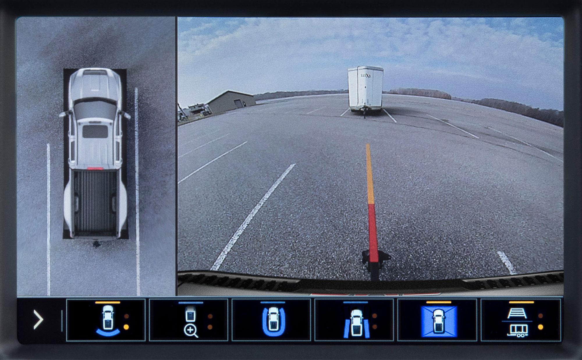 2020 GMC Sierra HD Transparent Trailer View backup camera