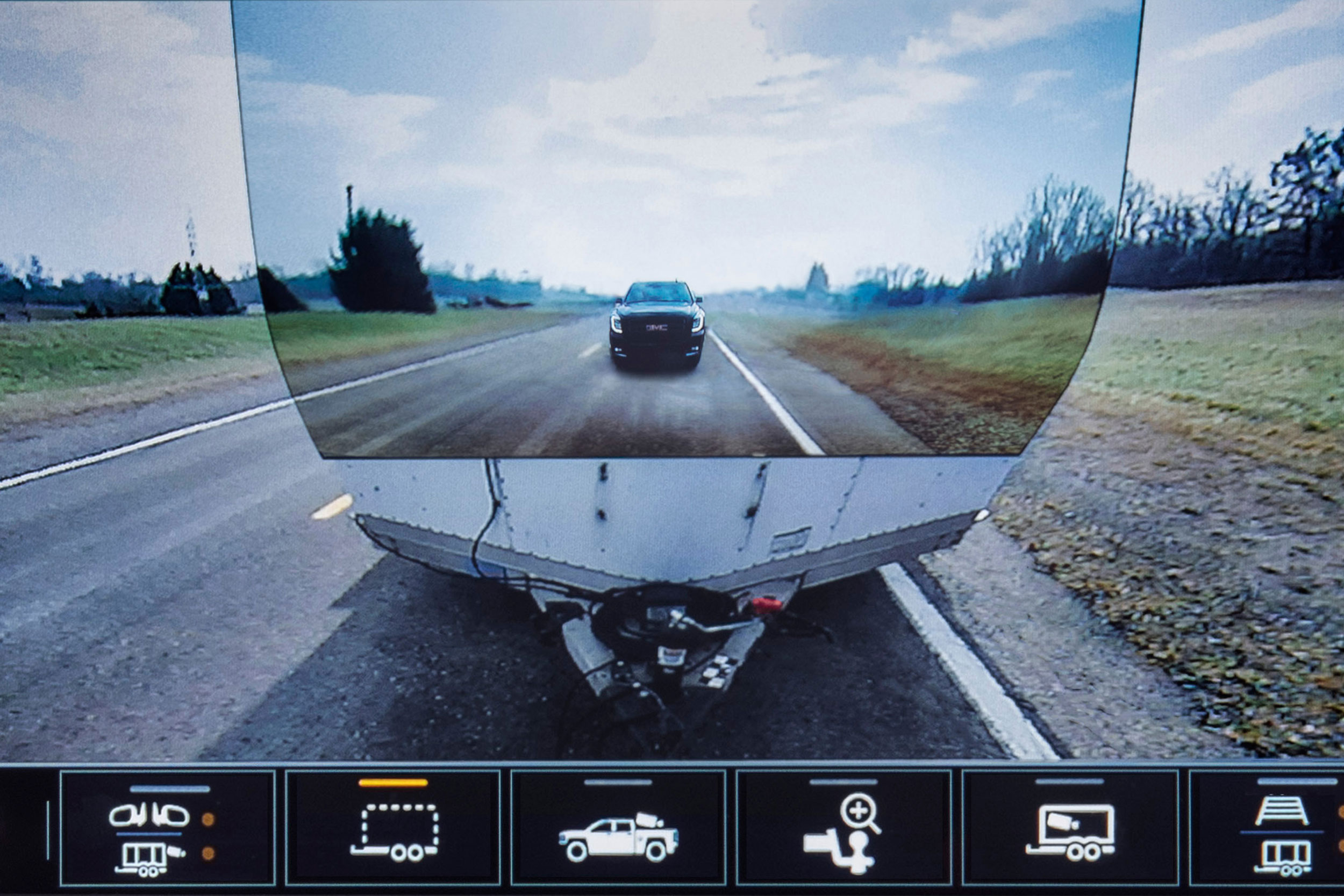 Best Wireless Backup Camera 2020.Invisible Tow Behind Gmc Launches Transparent Trailer View