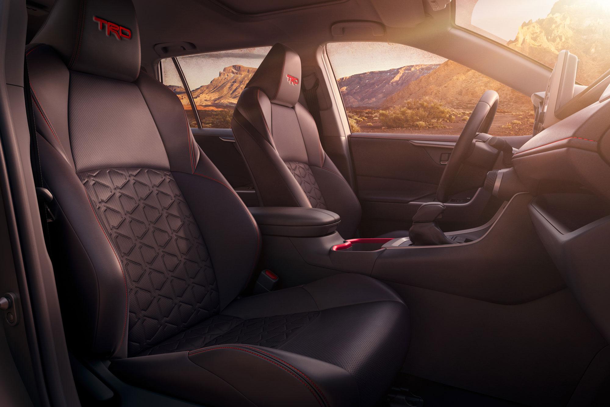 2020 Toyota RAV4 TRD Off-Road interior seats
