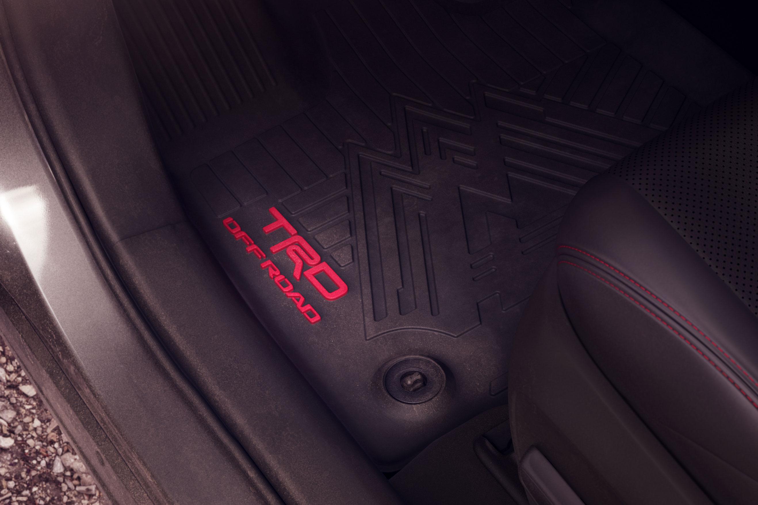 2020 Toyota RAV4 TRD Off-Road floor mats