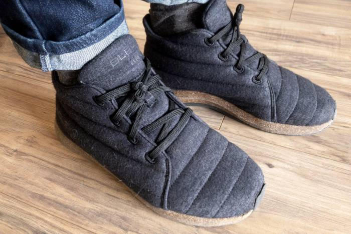 Algae, Wool, and Bison in a Shoe: Jasper Wool Eco Chukka Review