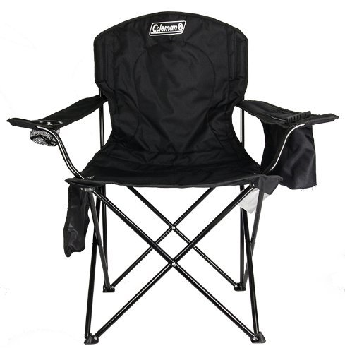 Best Budget Camping Chair: Coleman Portable Quad Chair with Cooler