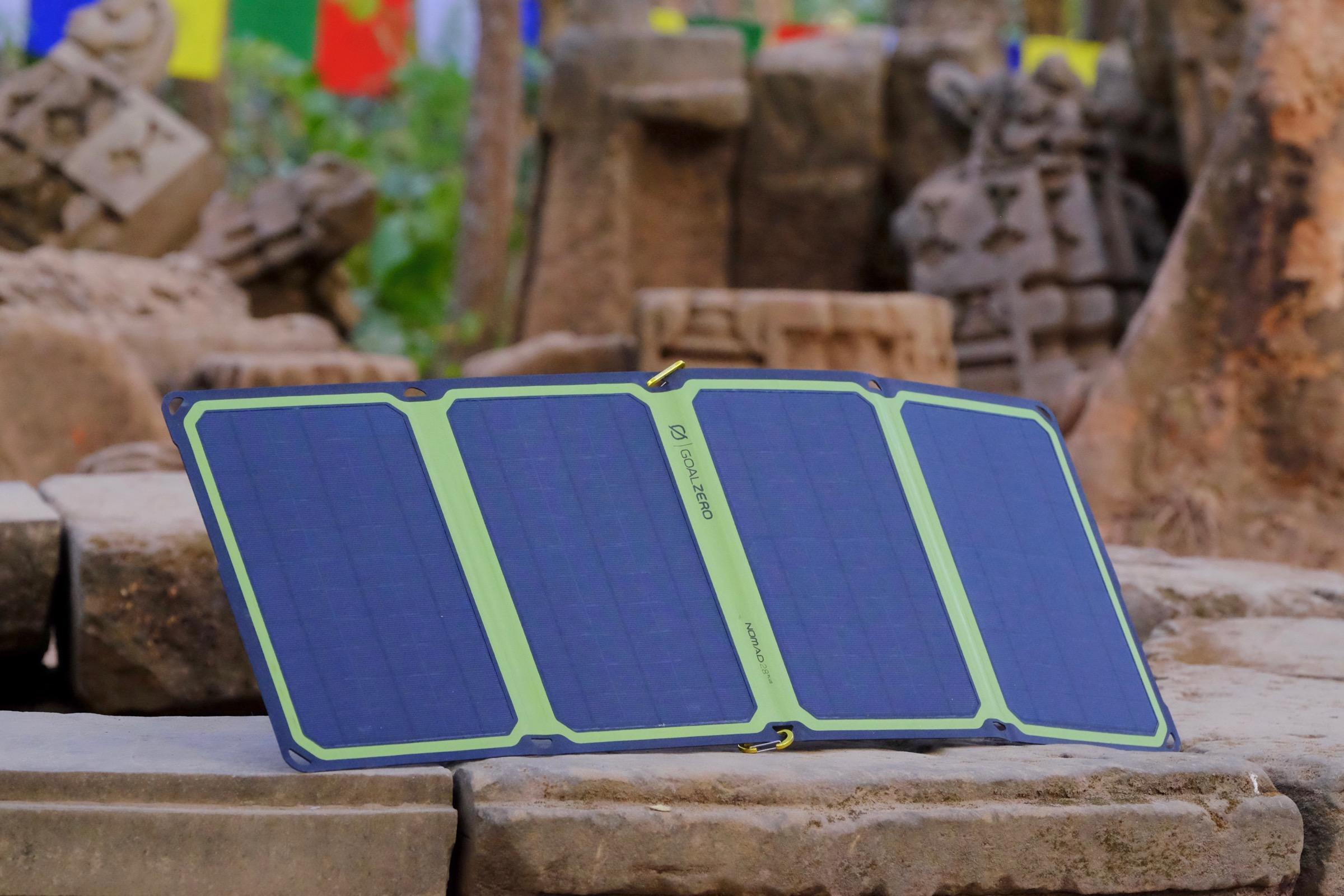 Travel Tested: Goal Zero Sherpa 100AC & Nomad 28 Plus Solar Kit