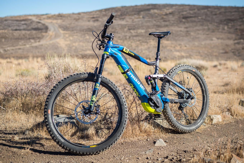 HaiBike XDUR0 AllMtn 9.0 mountain bike on trail