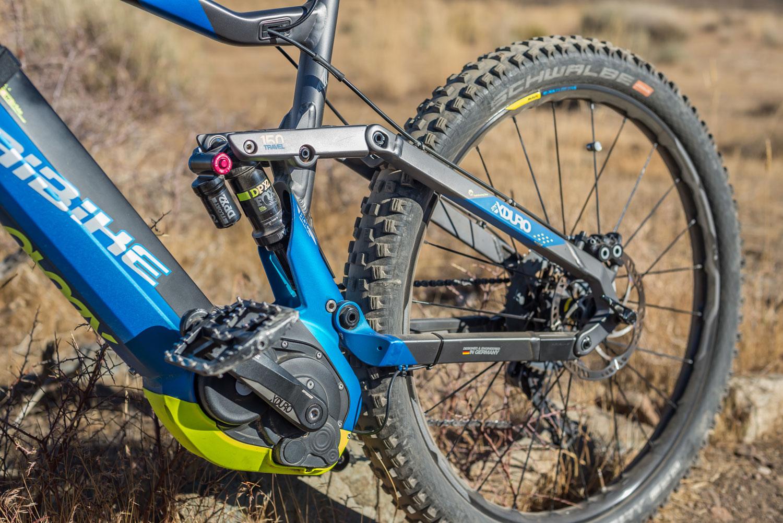 HaiBike XDUR0 AllMtn 9.0 mountain bike, back half