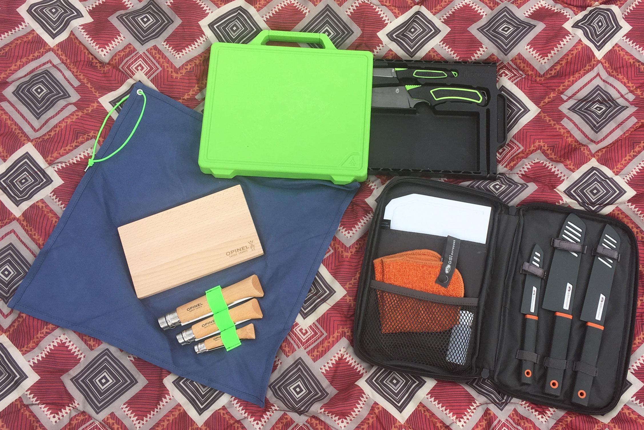 Camp knife kits