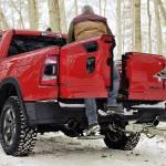 Dodge RAM Trucks Multifunction Tailgate retractable step